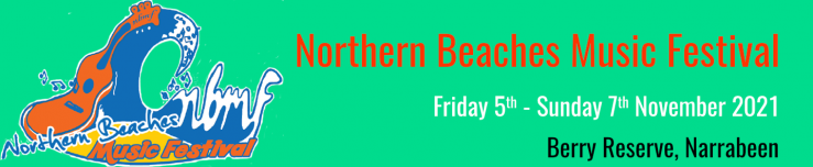 Northern Beaches Music Festival Heading