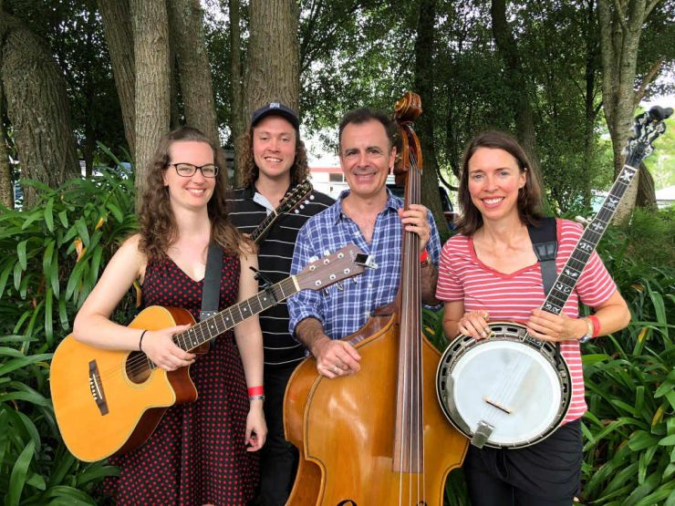 Dr Coocachoo Bluegrass Band